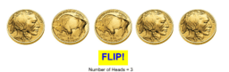 Flipping 5 Coins
