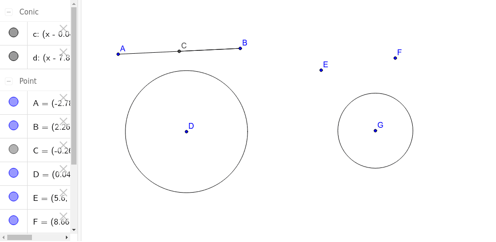 3.1.3 - Tool for constructing a circle with certain diameter Press Enter to start activity