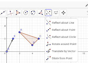 "Here is where to locate the ""Translate Object by Vector"" tool"