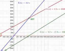Kosten- und Preistheorie - lineare Funktionen