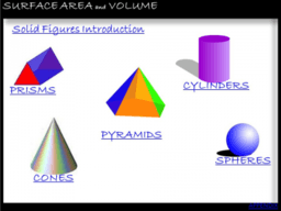 3D Shape Volumes