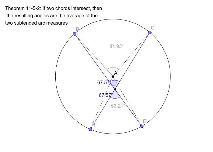 Theorem 11-5-2 Press Enter to start activity