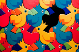 Butterflies, Pinwheels, and Wallpaper