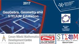 GeoGebra, Geometry and STEAM Education