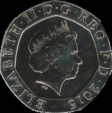 Twenty pence (British coin)