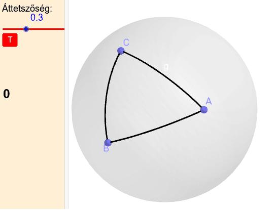 A gömbi geometriában ... Press Enter to start activity