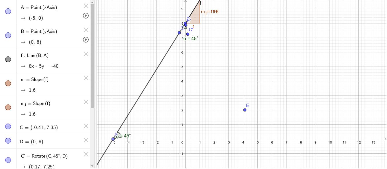 Tema: Elementos de la recta                                                                                                                               Presiona Intro para comenzar la actividad