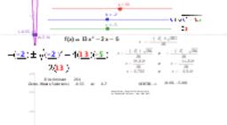 Quadratic Formula Steps