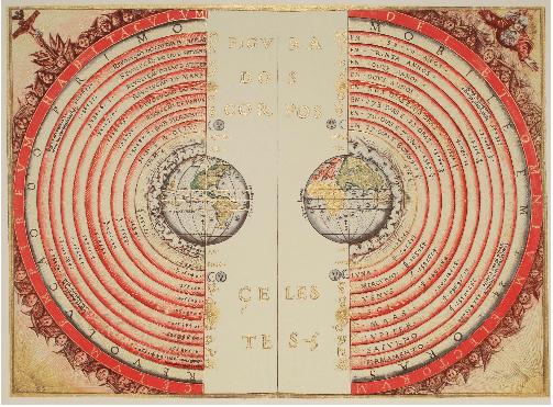 Ptolemæisk Geocentrisk Bartholemeu Velho 1568 Tryk Enter for at starte aktiviteten