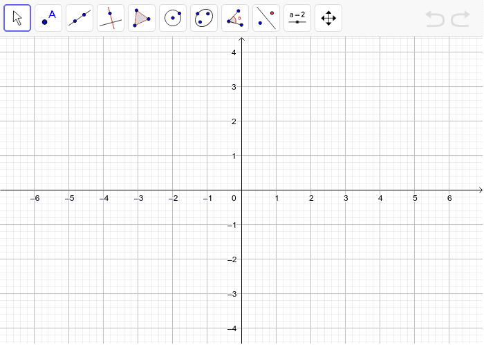 2. Zadaj si neki trokut i napravi osnu simetriju s obzirom na os simetrije x. Pritisnite Enter kako bi pokrenuli aktivnost