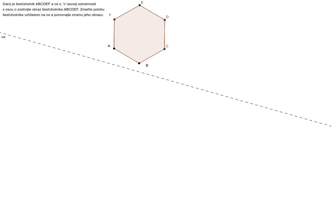 Úloha 2: šesťuholník Press Enter to start activity