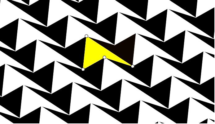Clique e arraste os vértices brancos! Press Enter to start activity