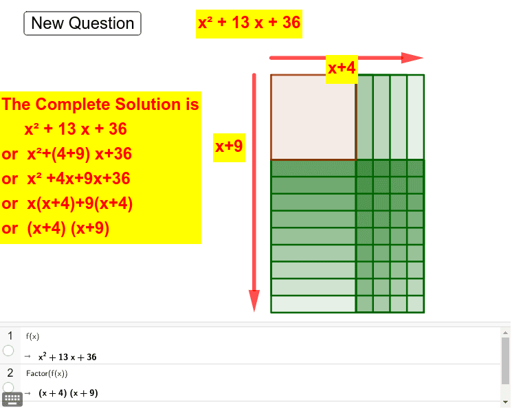 Try New Question 10 times and learn the mechanism Press Enter to start activity