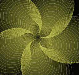Spiral Patterns with Shape