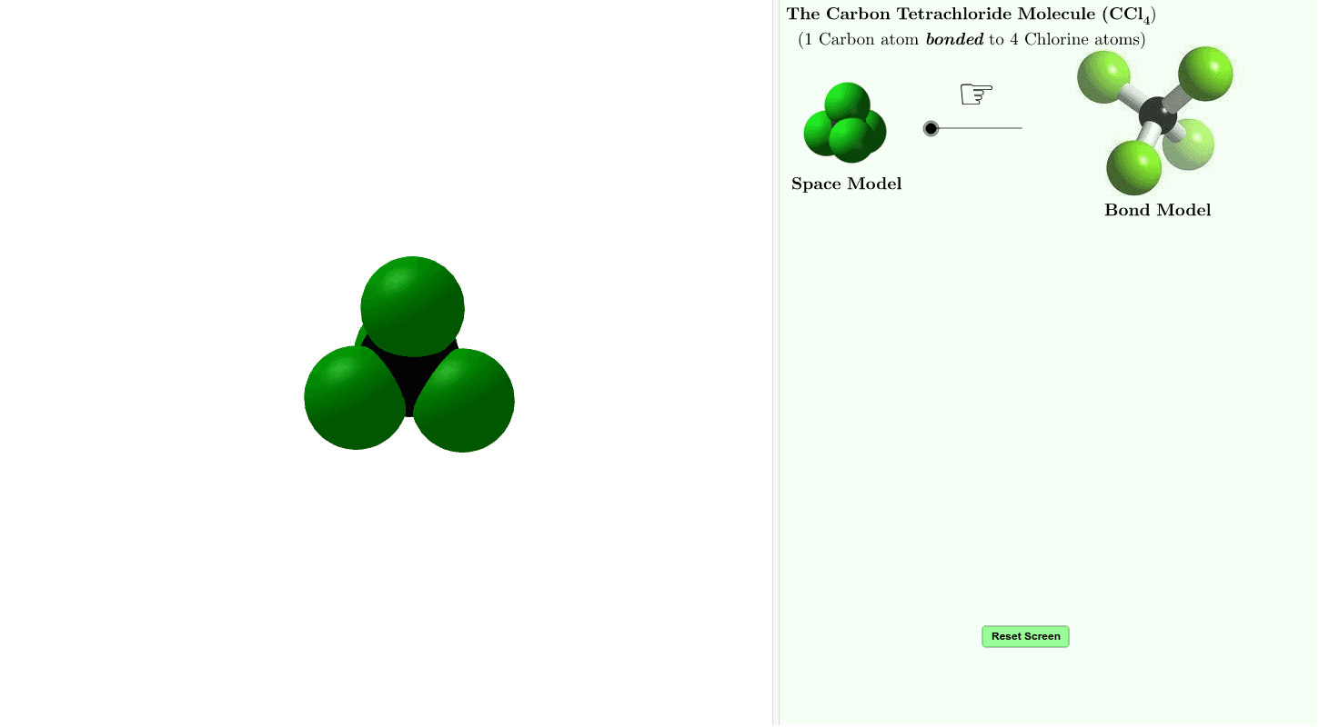 Applet - STEM - Chemistry: Molecule Press Enter to start activity
