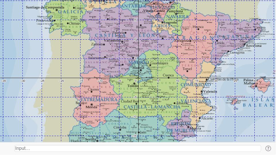 Mapa de España Presiona Intro para comenzar la actividad