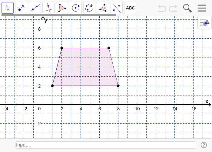 How many lines of symmetry does an isosceles trapezoid have> Press Enter to start activity