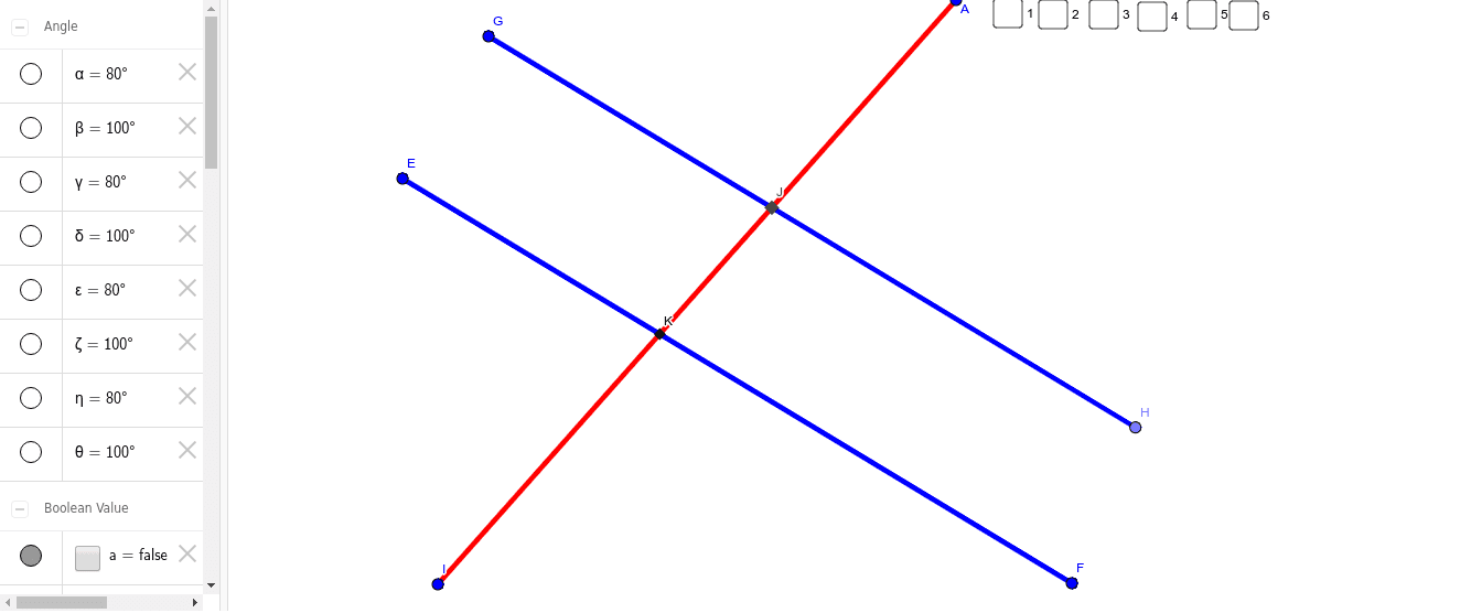 PARALLEL LINES AND TRANSVERSAL Press Enter to start activity