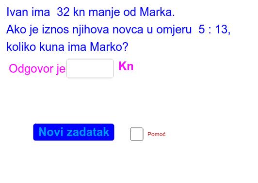 Primjer 2.  Pritisnite Enter za pokretanje.