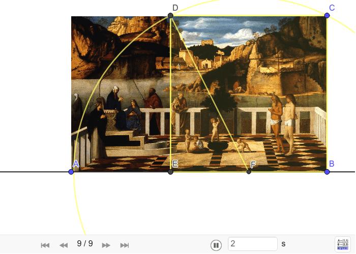 """Konstrukcija aurona na Bellinijevoj slici """"Alegorija Čistilišta"""" Pritisnite Enter kako bi pokrenuli aktivnost"""