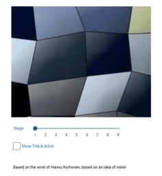 Mosaic Art (Voronoi ?)