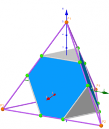 Geometric shapes of truncated Platonic polyhedra