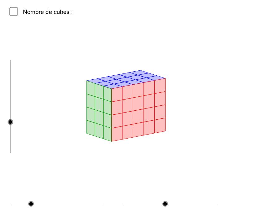 """Introduction à la formule du volume d'un parallélépipède rectangle Tapez """"Entrée"""" pour démarrer l'activité"""