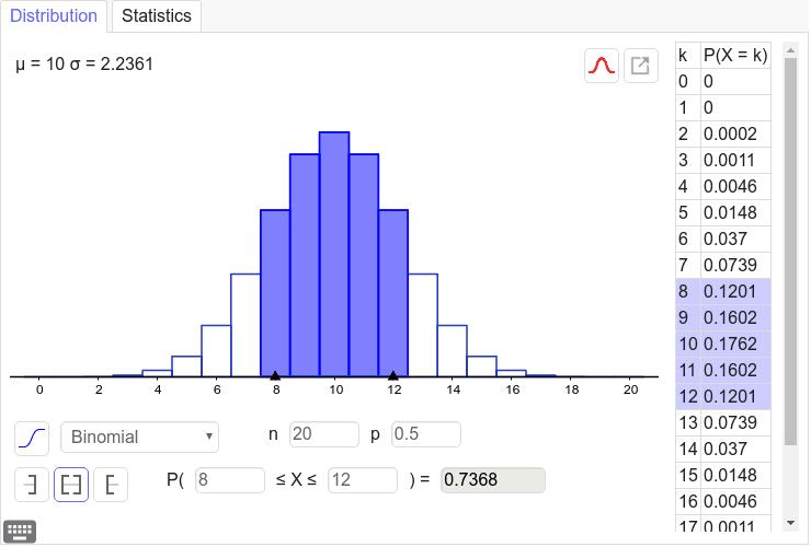 Binomial Distribution Press Enter to start activity