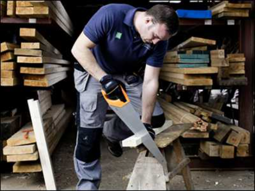 How do you cut wood down to size?