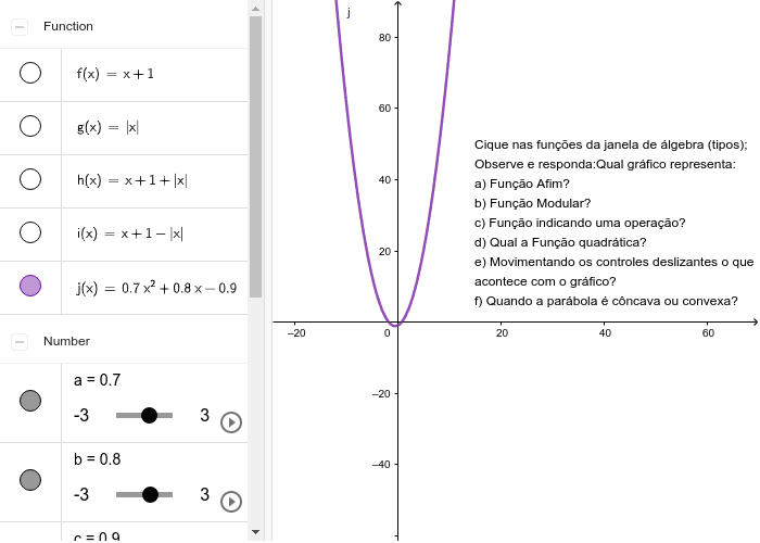 Descobrindo os tipos de Funções Press Enter to start activity