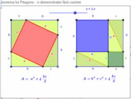 Teorema lui Pitagora - plan de lecție