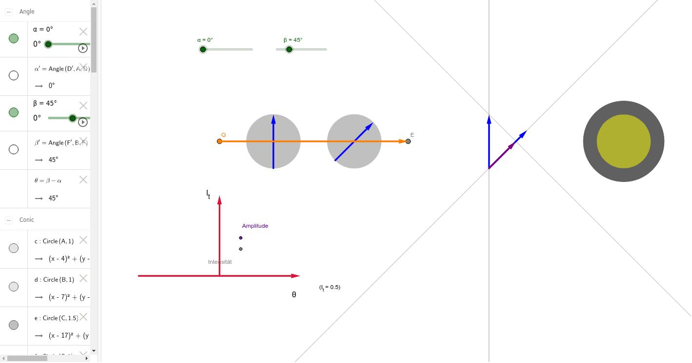 5-1-1 Polarisation Drücke die Eingabetaste um die Aktivität zu starten