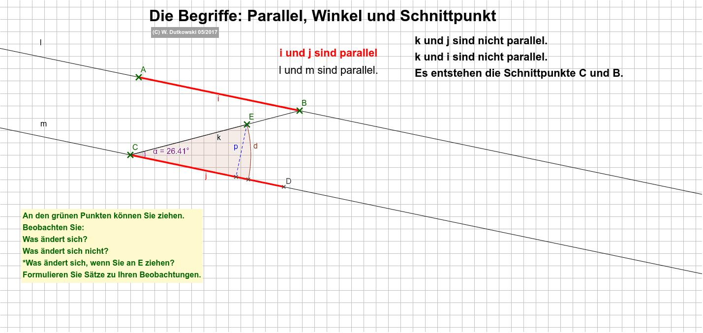 Was bedeutet parallel? Drücke die Eingabetaste um die Aktivität zu starten
