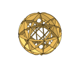 Sperical model - cuboctahedron
