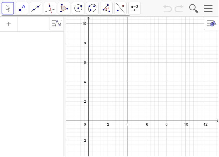 Representa una función lineal y otra cuadrática utilizando deslizadores para los valores de m, n, a, b y c. Presiona Intro para comenzar la actividad