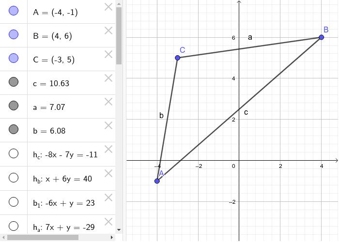 Beispiel Dreieck Drücke die Eingabetaste um die Aktivität zu starten