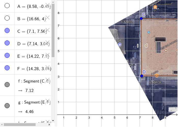 Module 6 Area/ perimeter of building Press Enter to start activity
