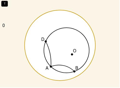 A hiperbolikus geometriában Press Enter to start activity