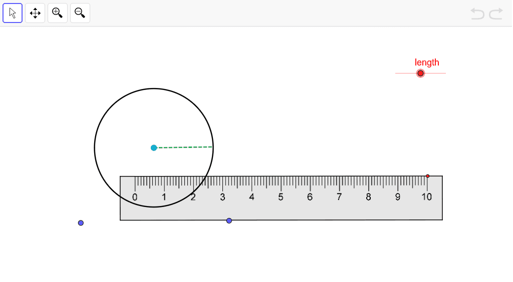 Measure the Radius Press Enter to start activity
