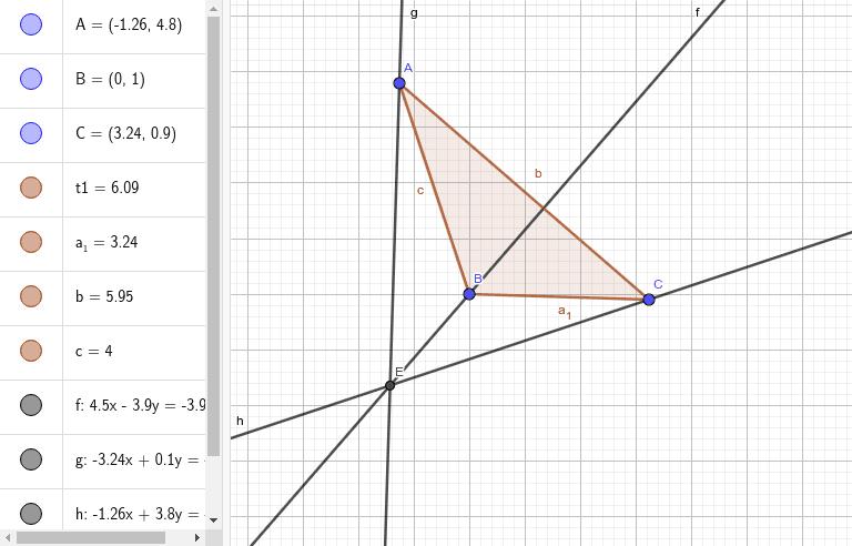 Ортоцентр трикутника Натисніть Enter, щоб розпочати розробку