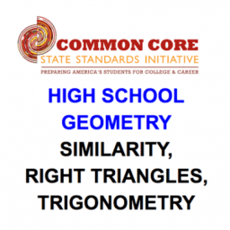 Geometry (Similarity, Right T, Trig.)