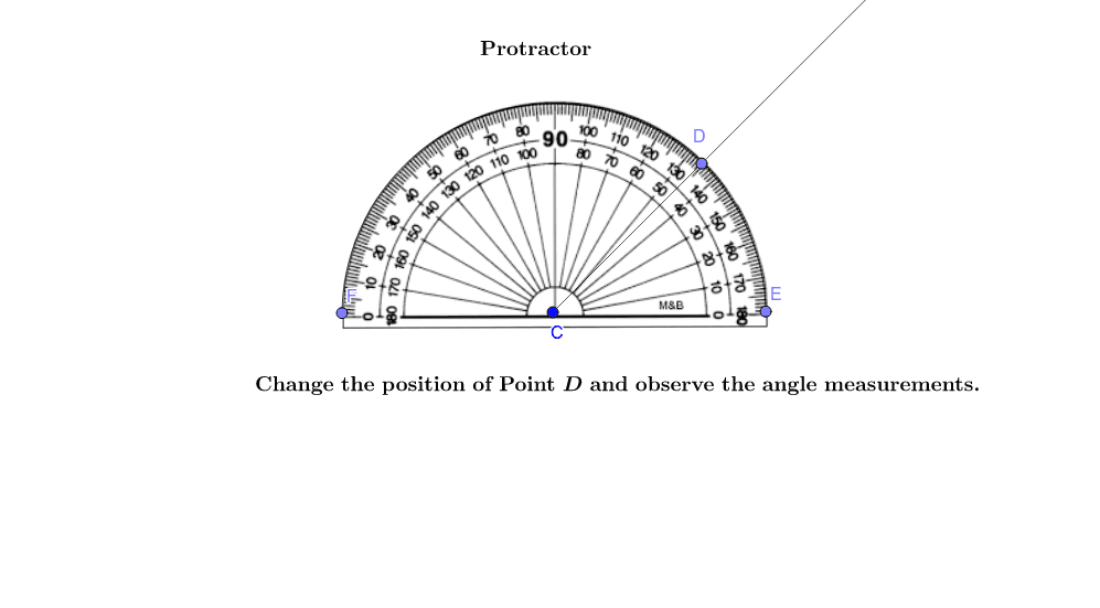 Protractor  Press Enter to start activity