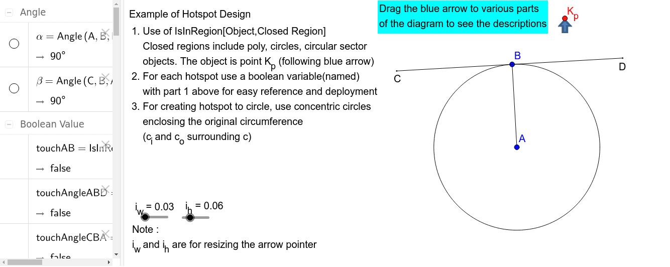 Example of Hotspot Design Press Enter to start activity