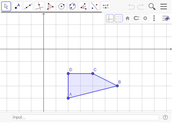 3. Translate using the rule (x,y) -> (x-3, y+2). Show all construction marks! (2 pts) Press Enter to start activity