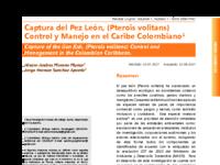 Captura del Pez León, (Pterois volitans).pdf