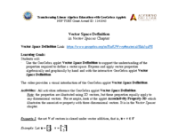 Vector Space Definition (Properties ) - Activity.pdf