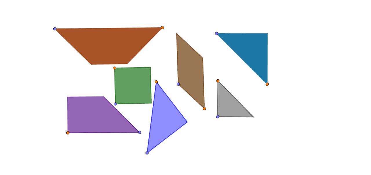Siirrä kuvioita oranssista pisteestä ja kierrä sinisestä pisteestä Paina Enter aloittaaksesi