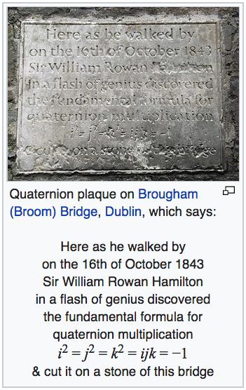 https://en.wikipedia.org/wiki/Quaternion