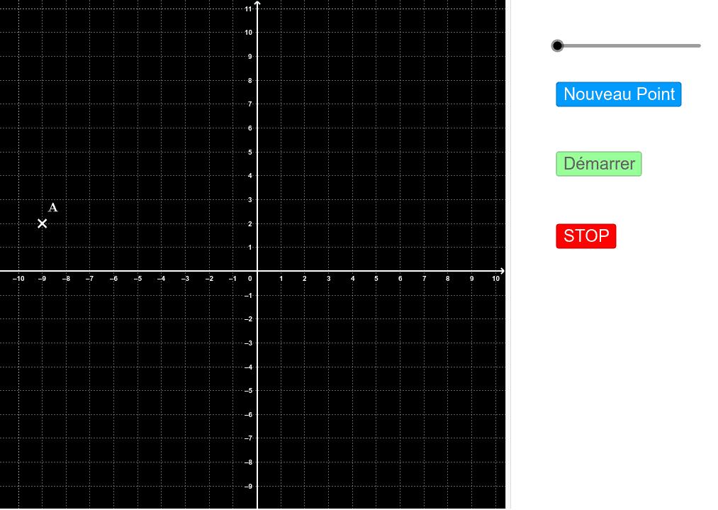 """Comment lire les coordonnées d'un point ? Tapez """"Entrée"""" pour démarrer l'activité"""
