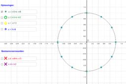 Oplossingen goniometrische vergelijkingen